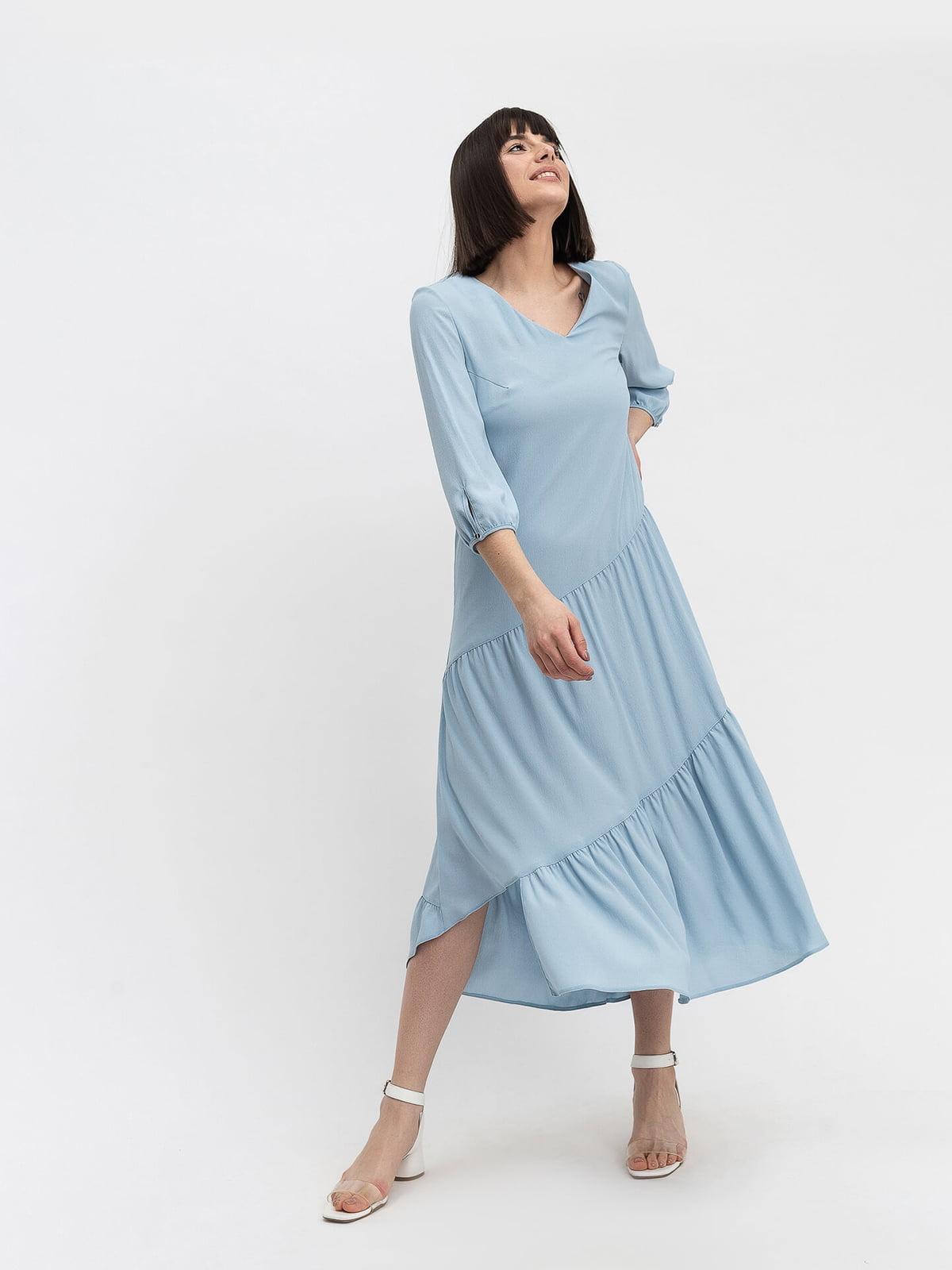 Платье голубое   5115930
