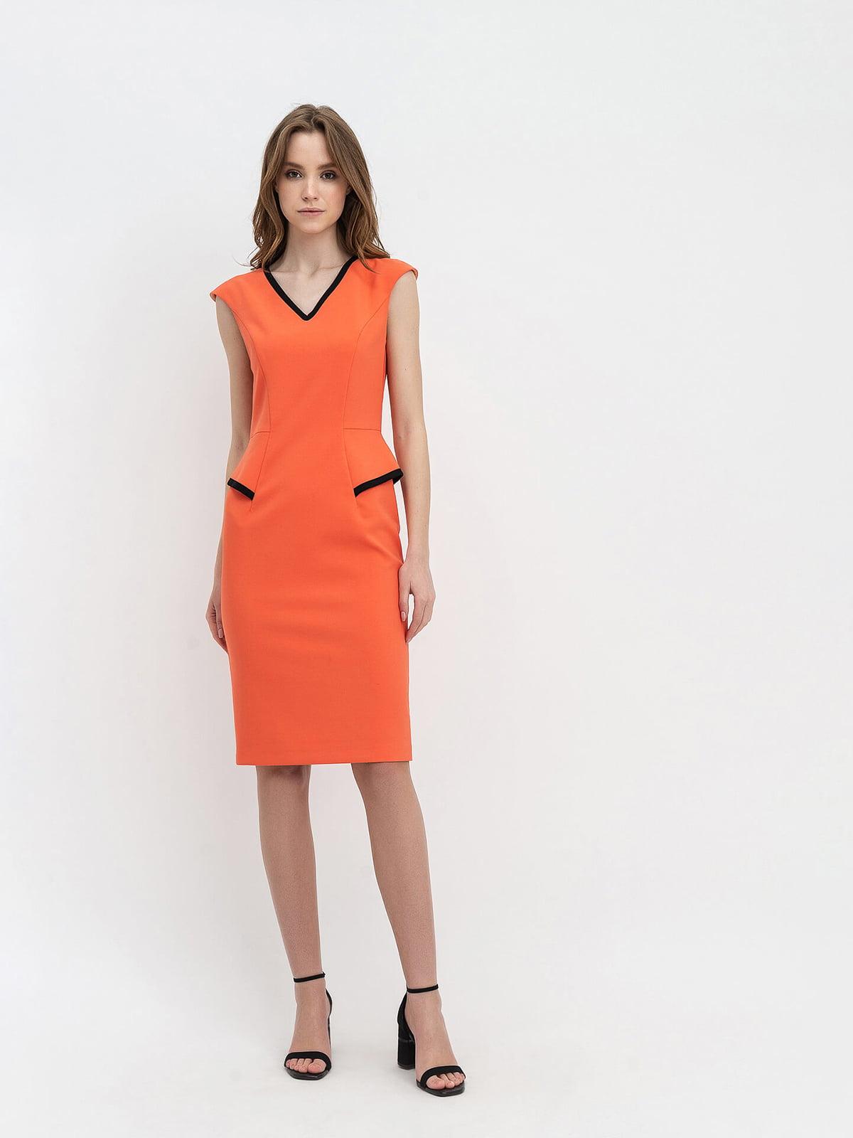 Платье оранжевое   5115964