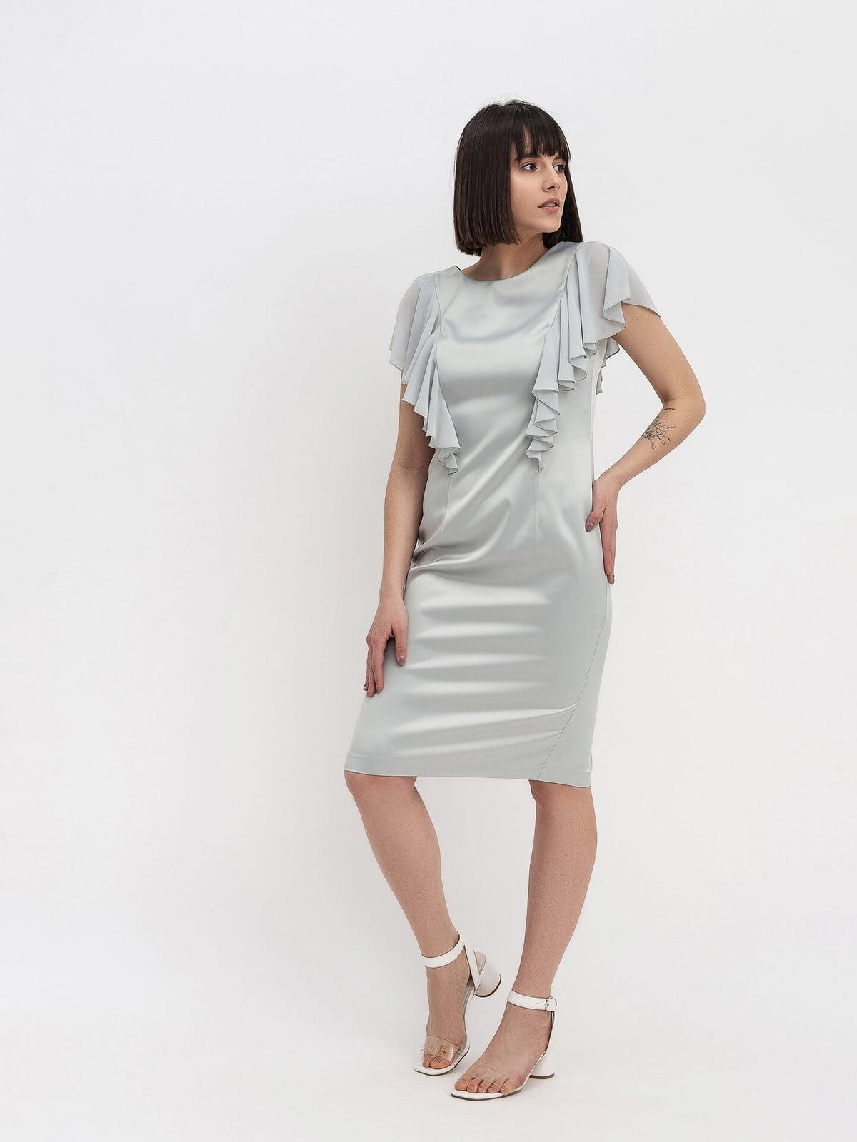 Платье серое   5115973