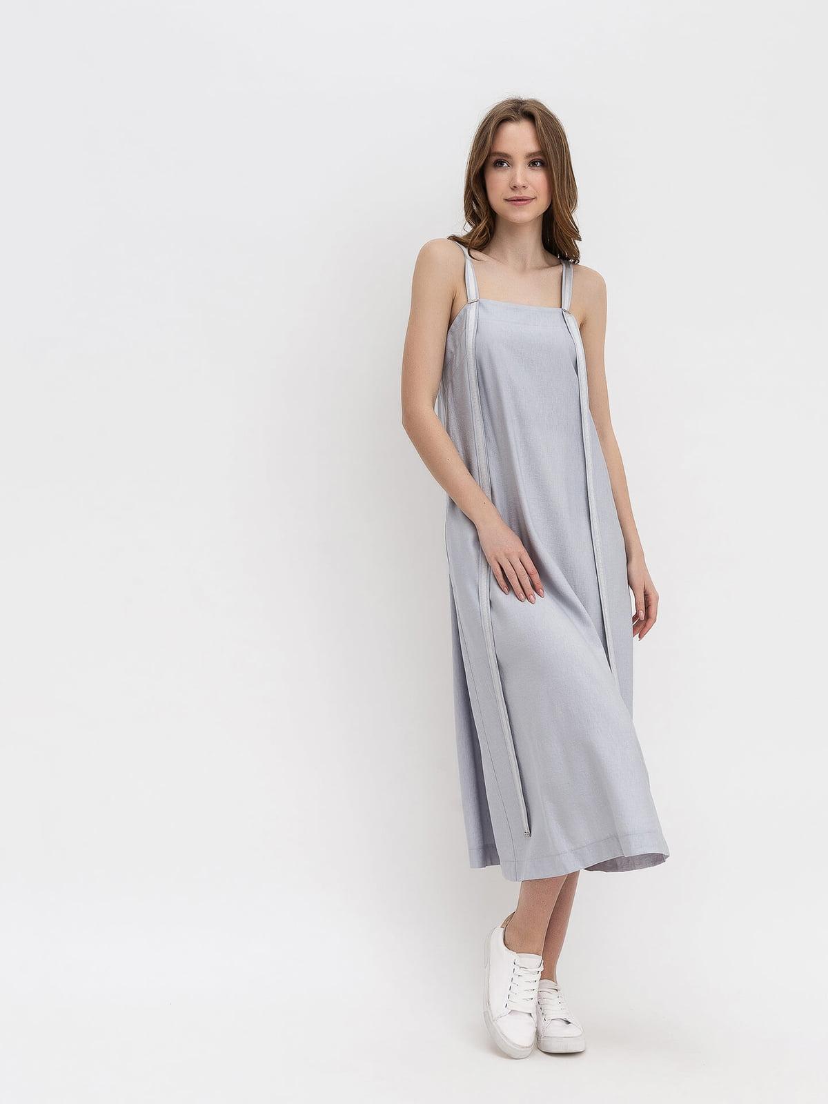 Платье серое   5115983