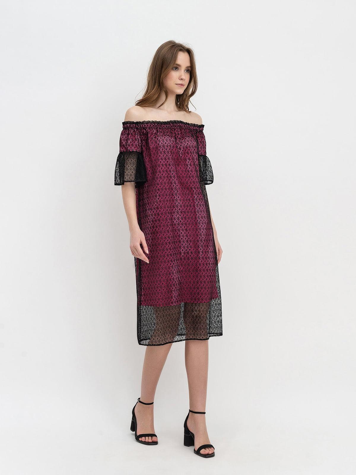 Платье двухцветное   5115990
