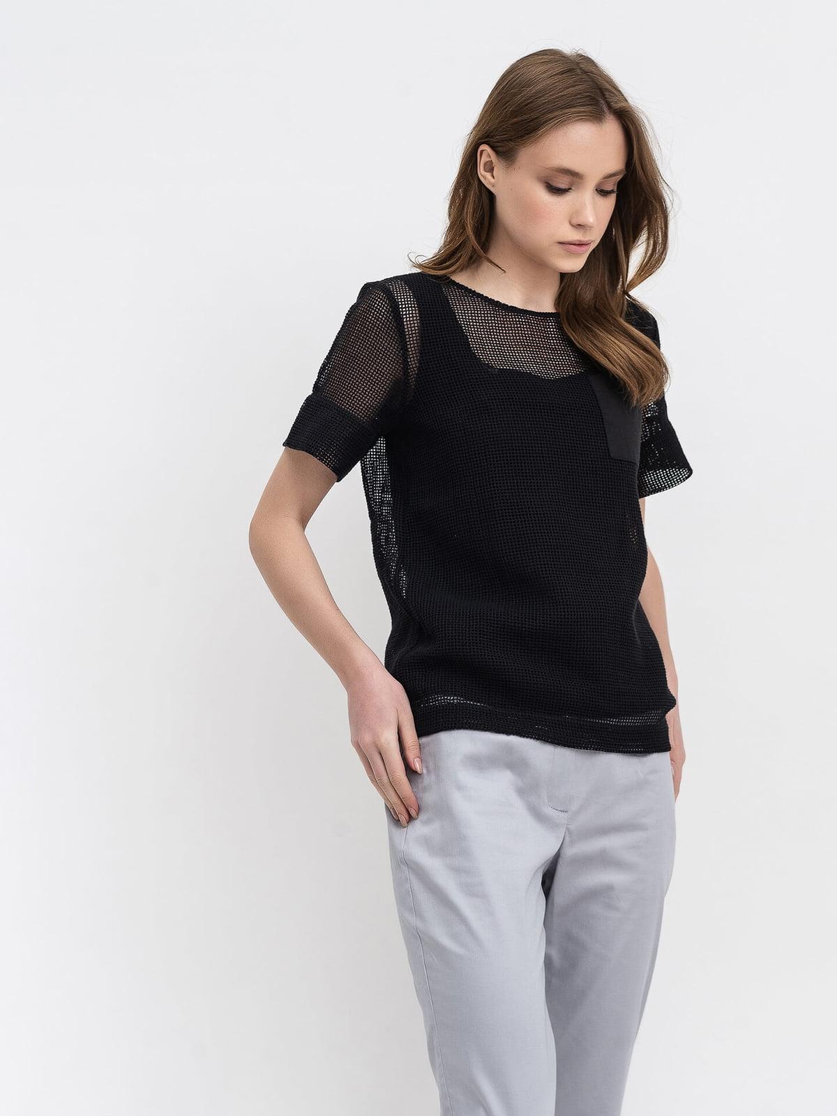 Блуза черная   5116088