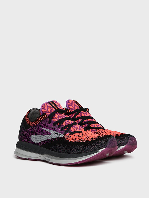 Кроссовки комбинированного цвета с логотипом | 5512522
