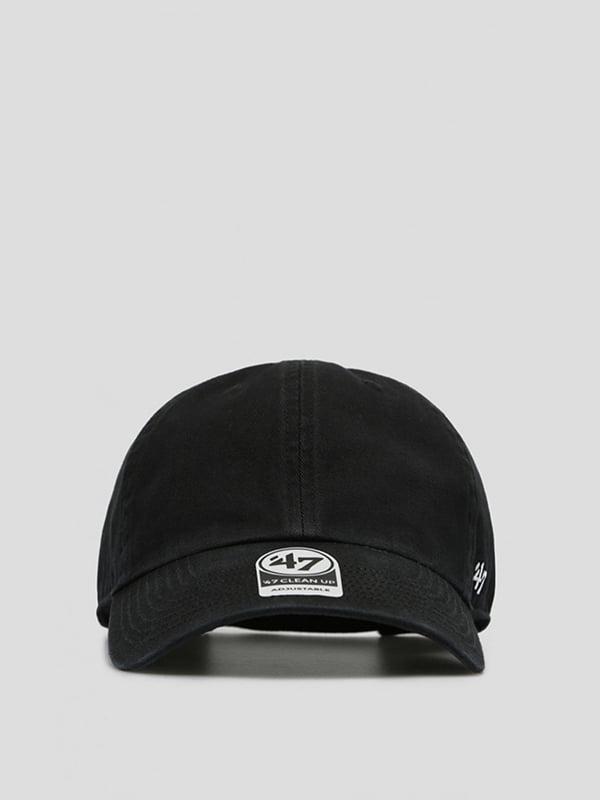 Бейсболка черная с логотипом   5512686