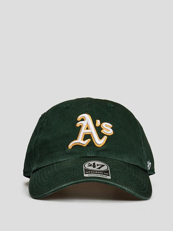 Бейсболка зелена з логотипом | 5738790