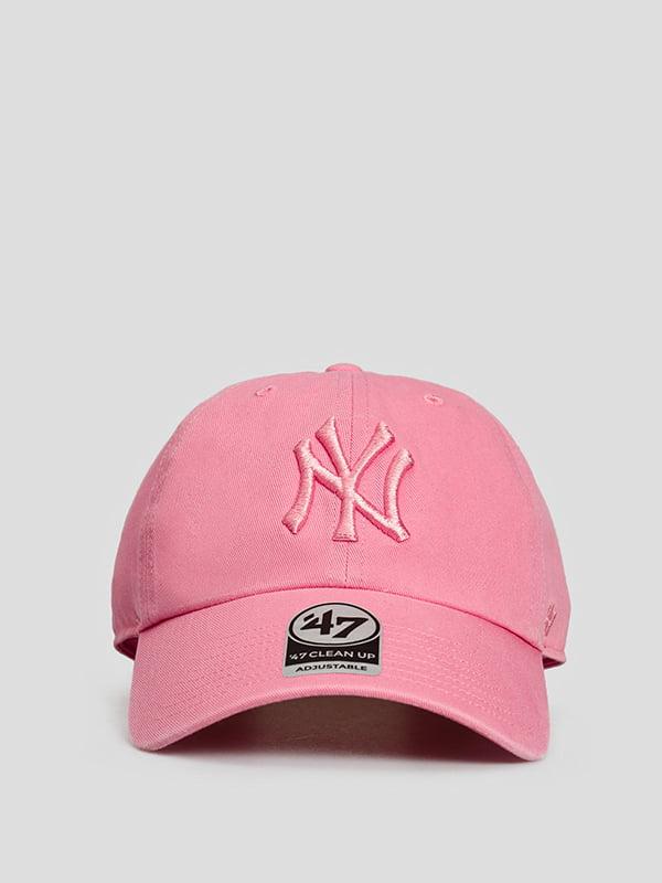 Бейсболка рожева з логотипом   5738812