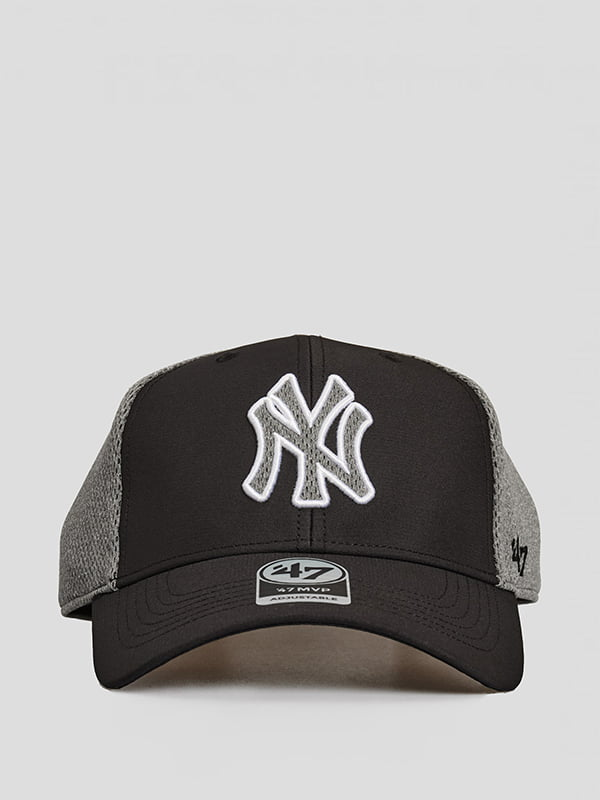 Бейсболка чорна з логотипом   5738819
