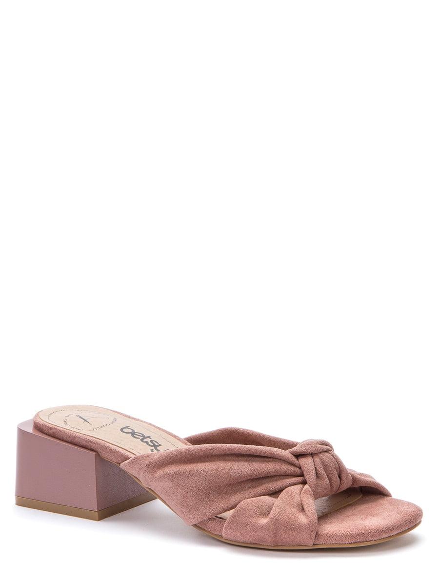 Мюли темно-розовые | 5743339