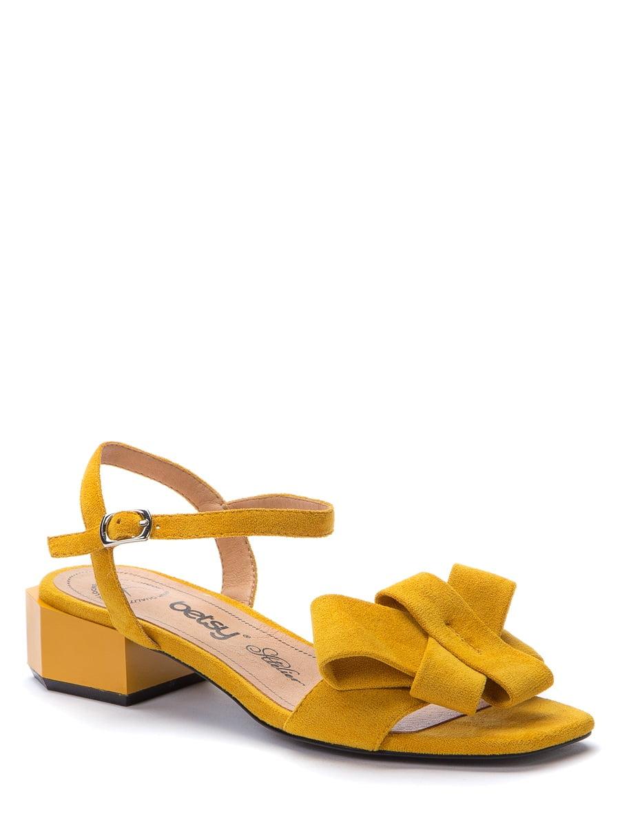 Босоножки желтые | 5743365