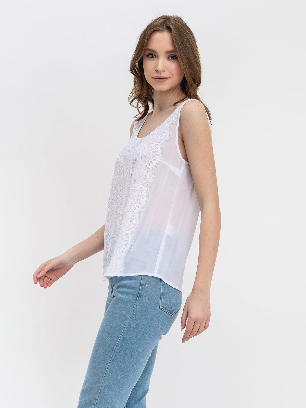 Блуза белая | 5115763