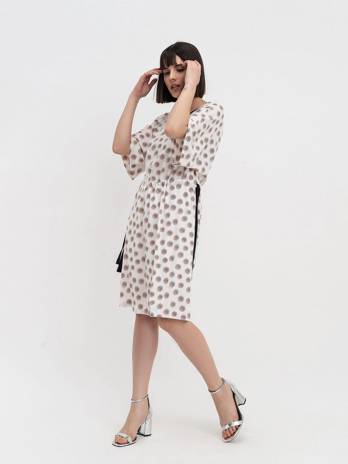Платье молочного цвета   5139587