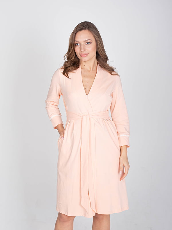 Халат персикового кольору | 5607490