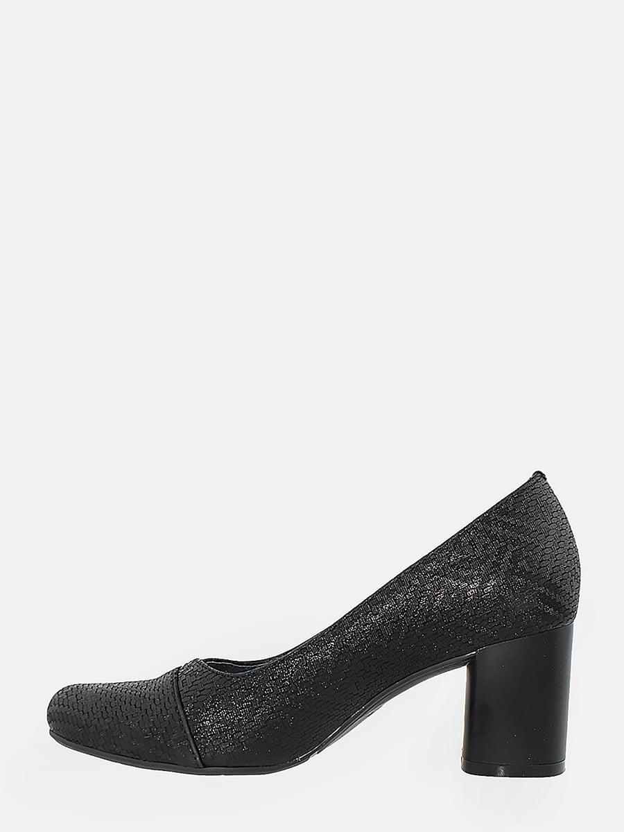 Туфлі чорні з візерунком | 5743152