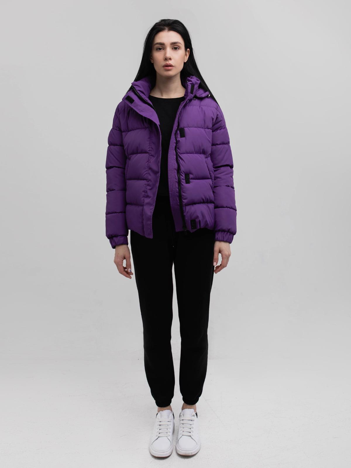 Куртка фіолетова | 5749572