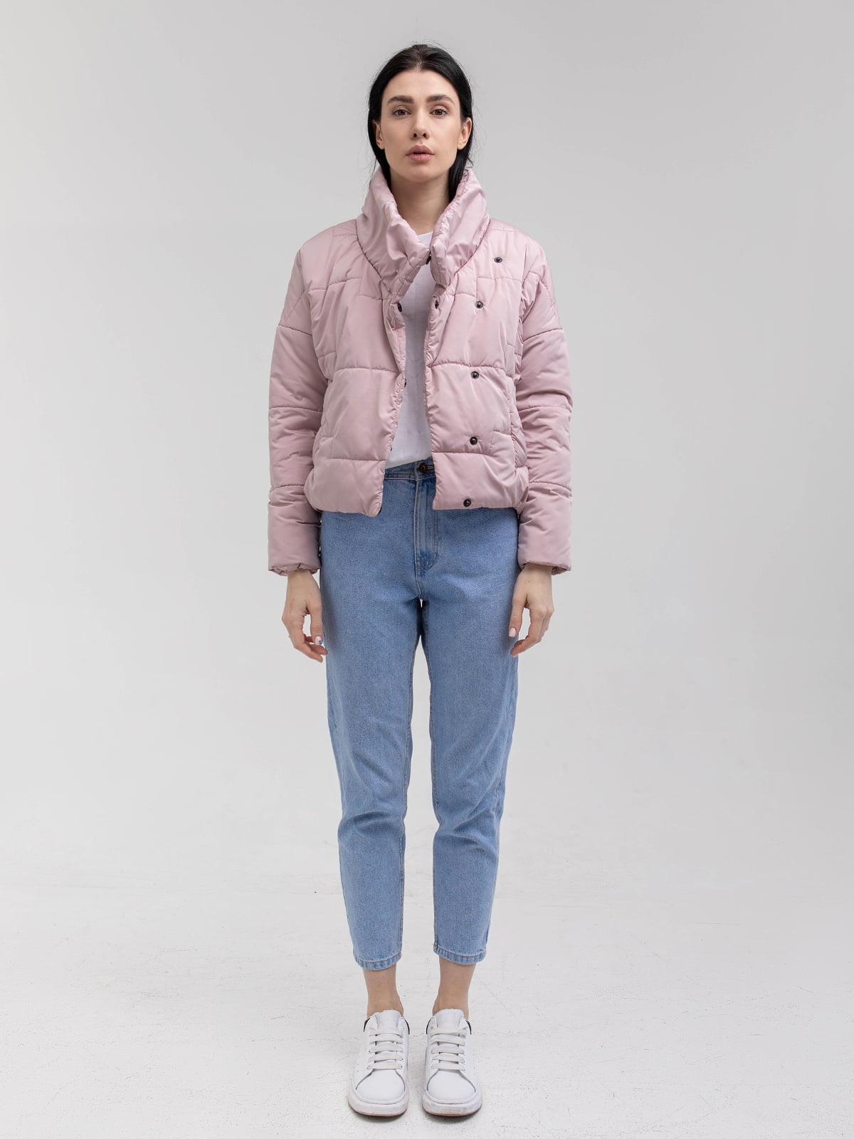 Куртка пудрового цвета | 5749608