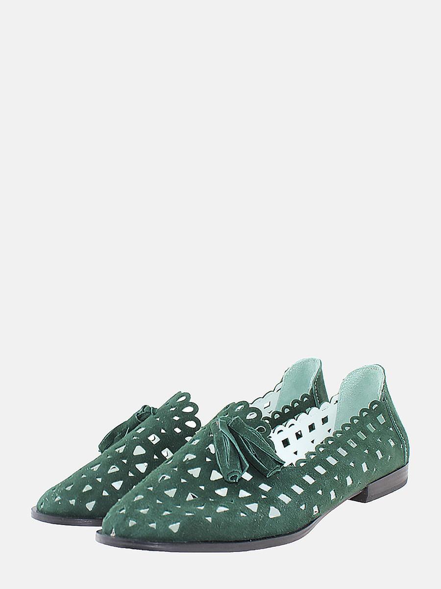 Балетки зелені | 5737765