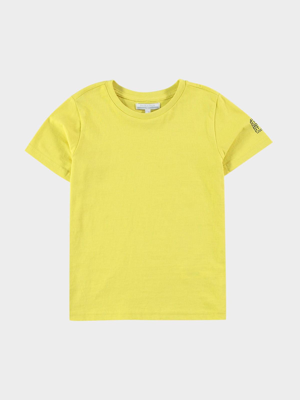 Футболка желтая   5752337