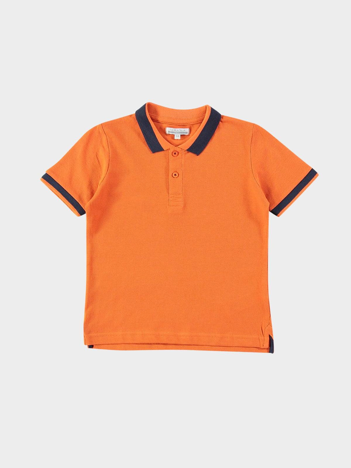 Футболка-поло помаранчева   5752341