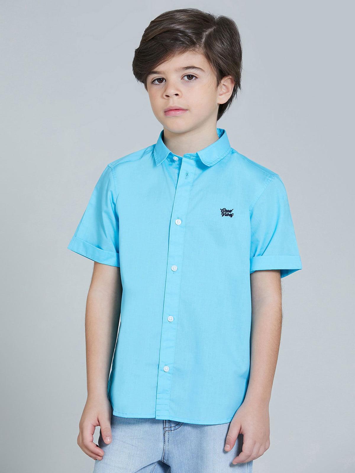 Рубашка голубая   5752366