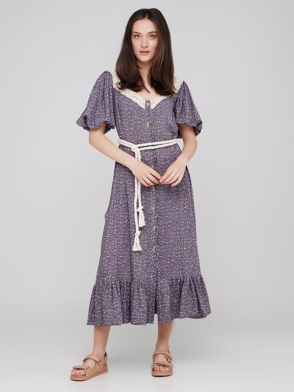 Платье синее   5769467