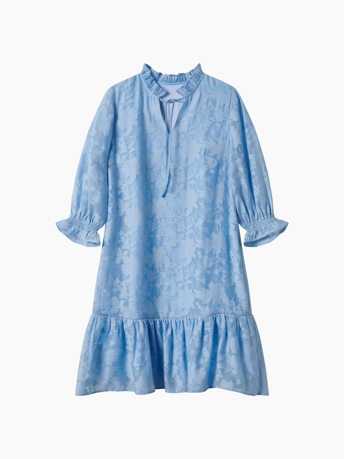 Платье голубое   5769508