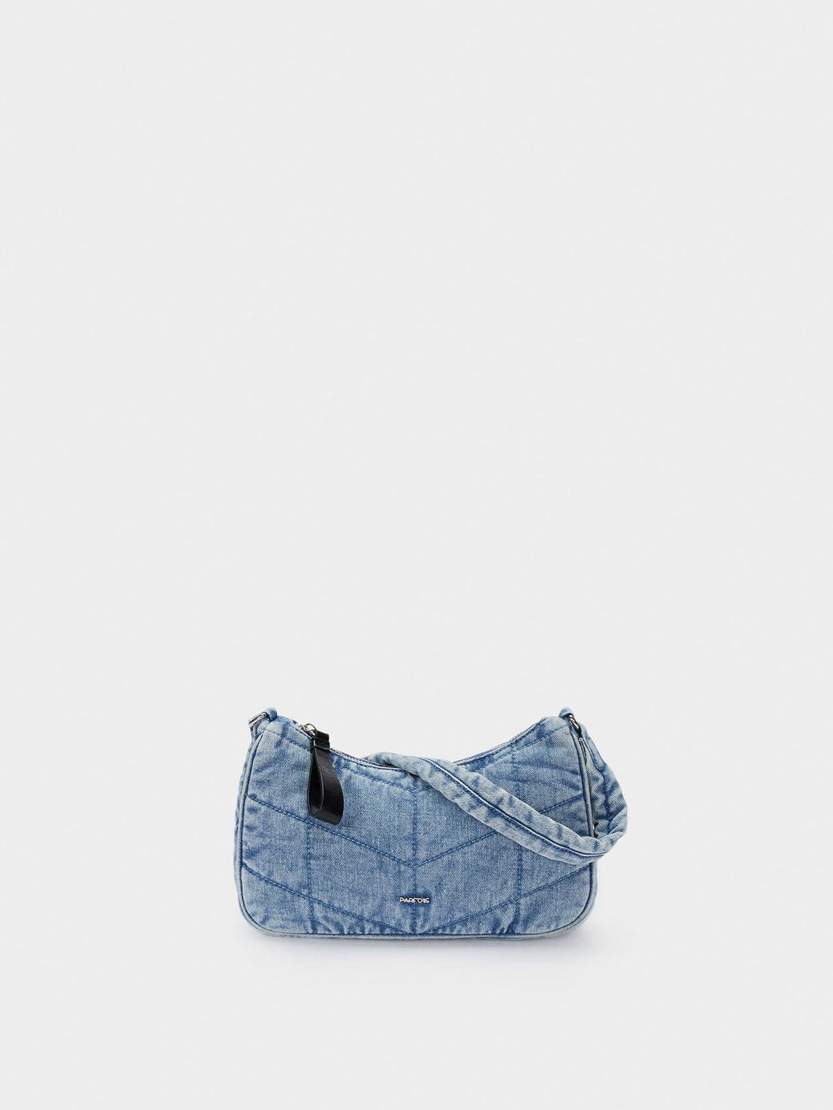 Сумка джинсовая синяя | 5769692