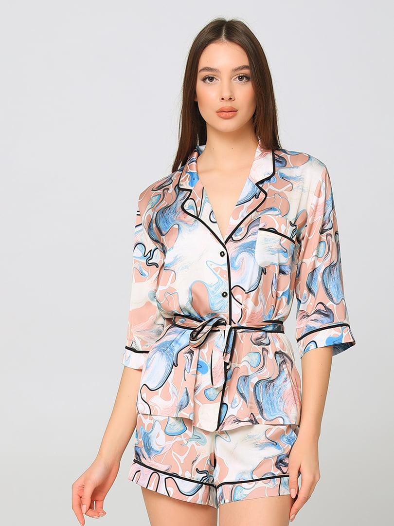 Пижама: рубашка и шорты | 5777212