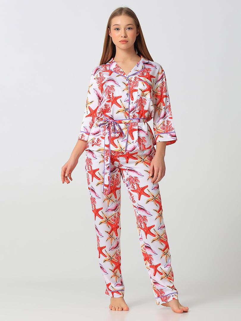 Пижама: рубашка и брюки | 5777221