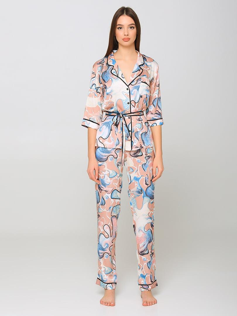 Пижама: рубашка и брюки | 5777229