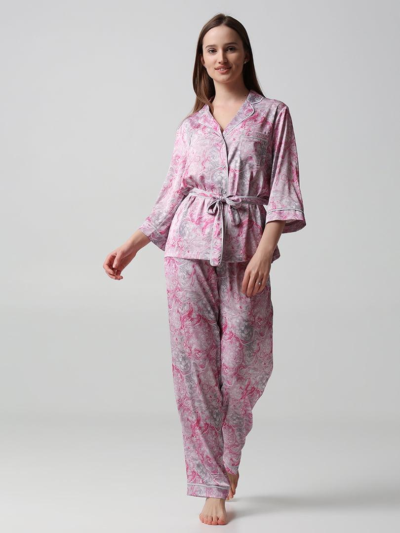 Пижама: рубашка и брюки | 5777233
