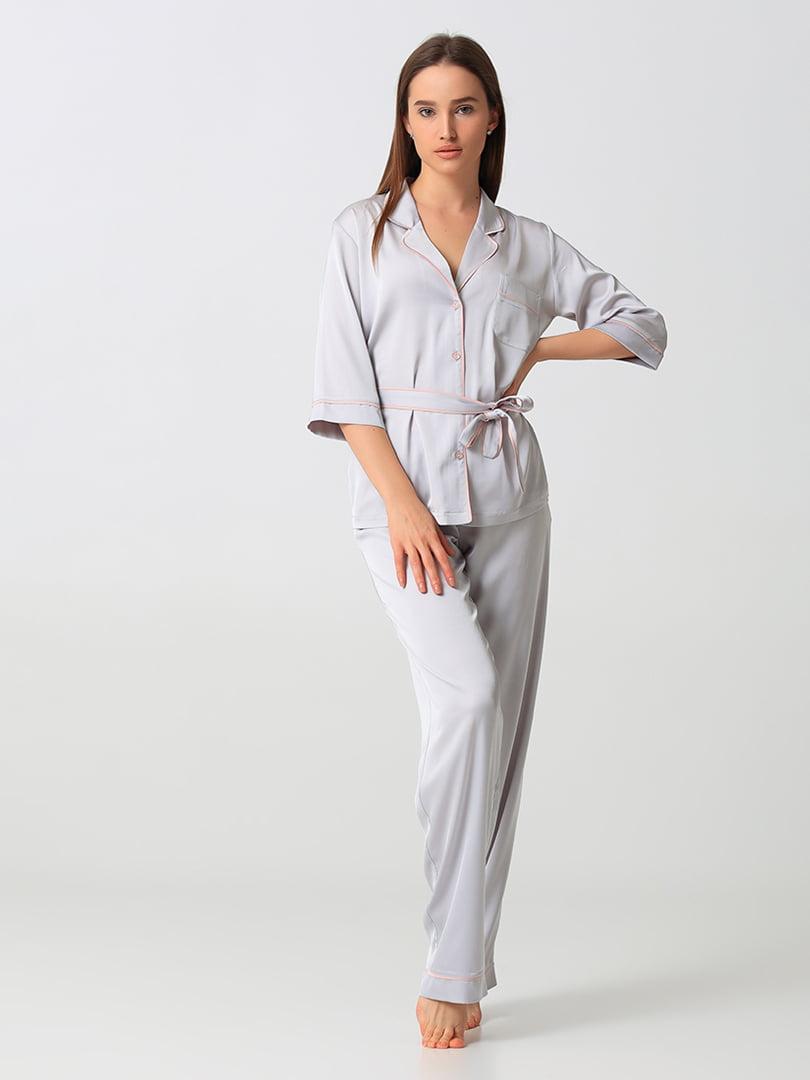 Пижама: рубашка и брюки | 5777236