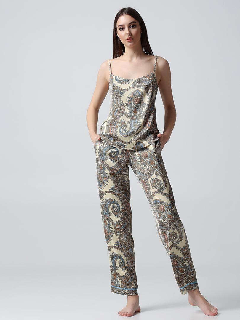 Пижама: топ и брюки   5777245