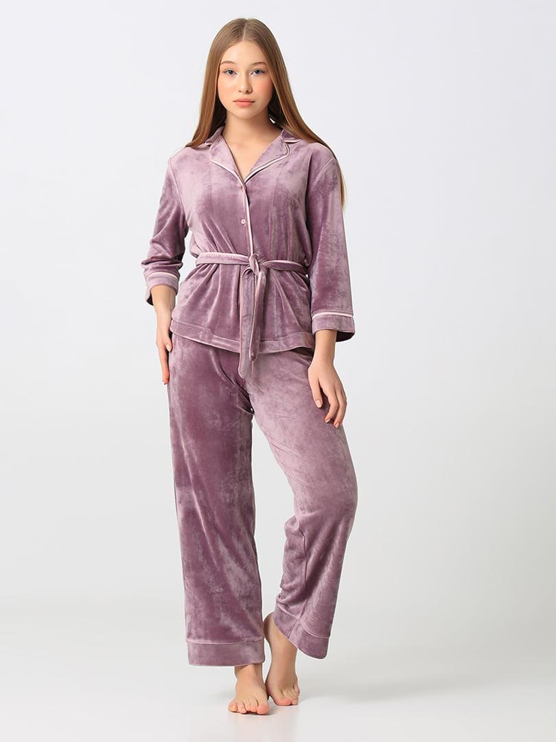 Пижама: рубашка и брюки | 5777291