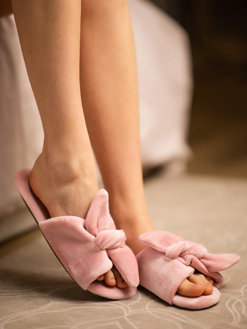 Тапочки розовые | 5777325
