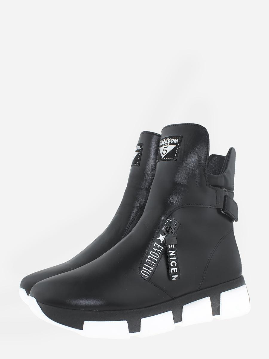 Черевики чорні | 5747132