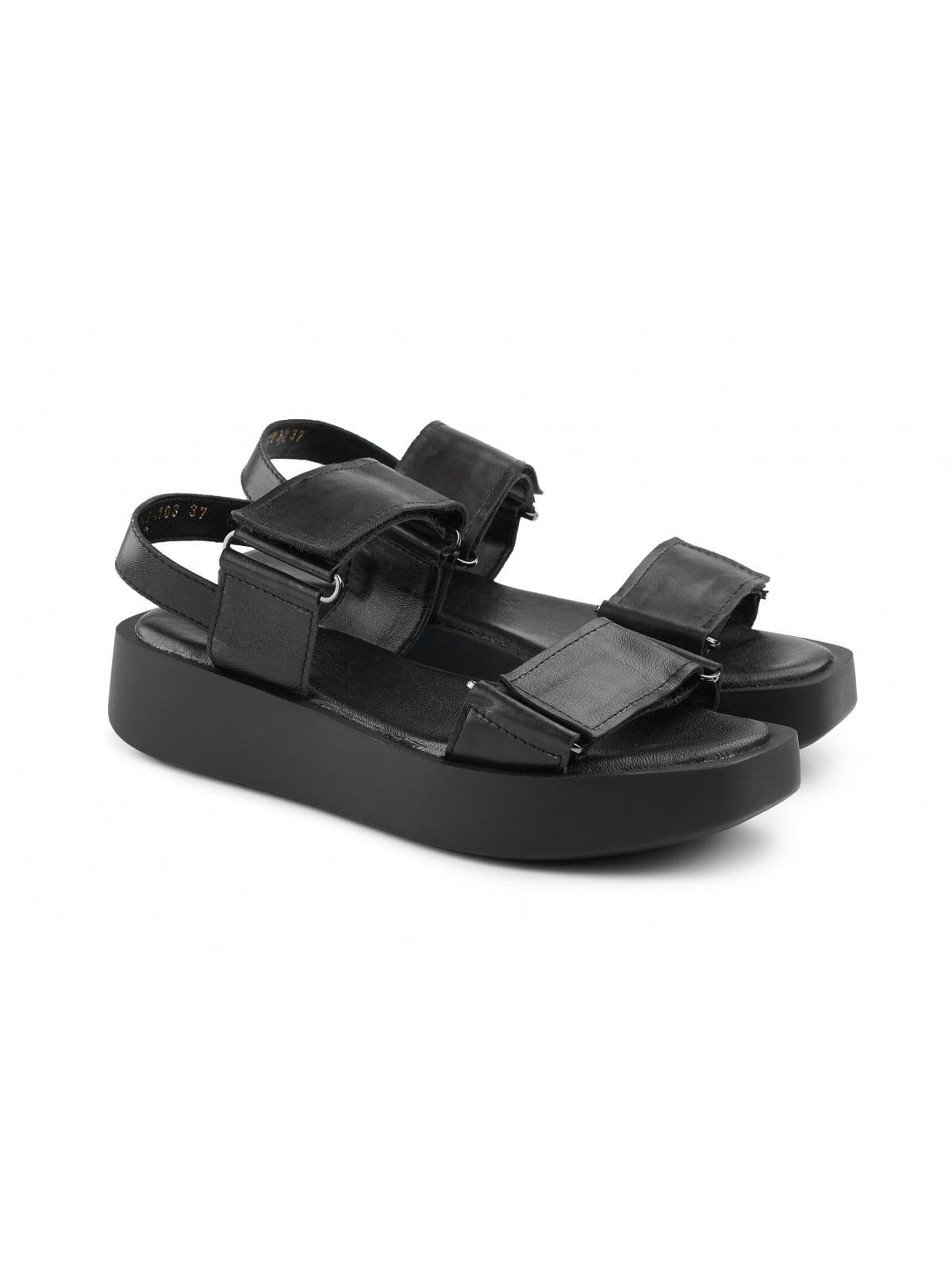 Сандалии черные | 5782223