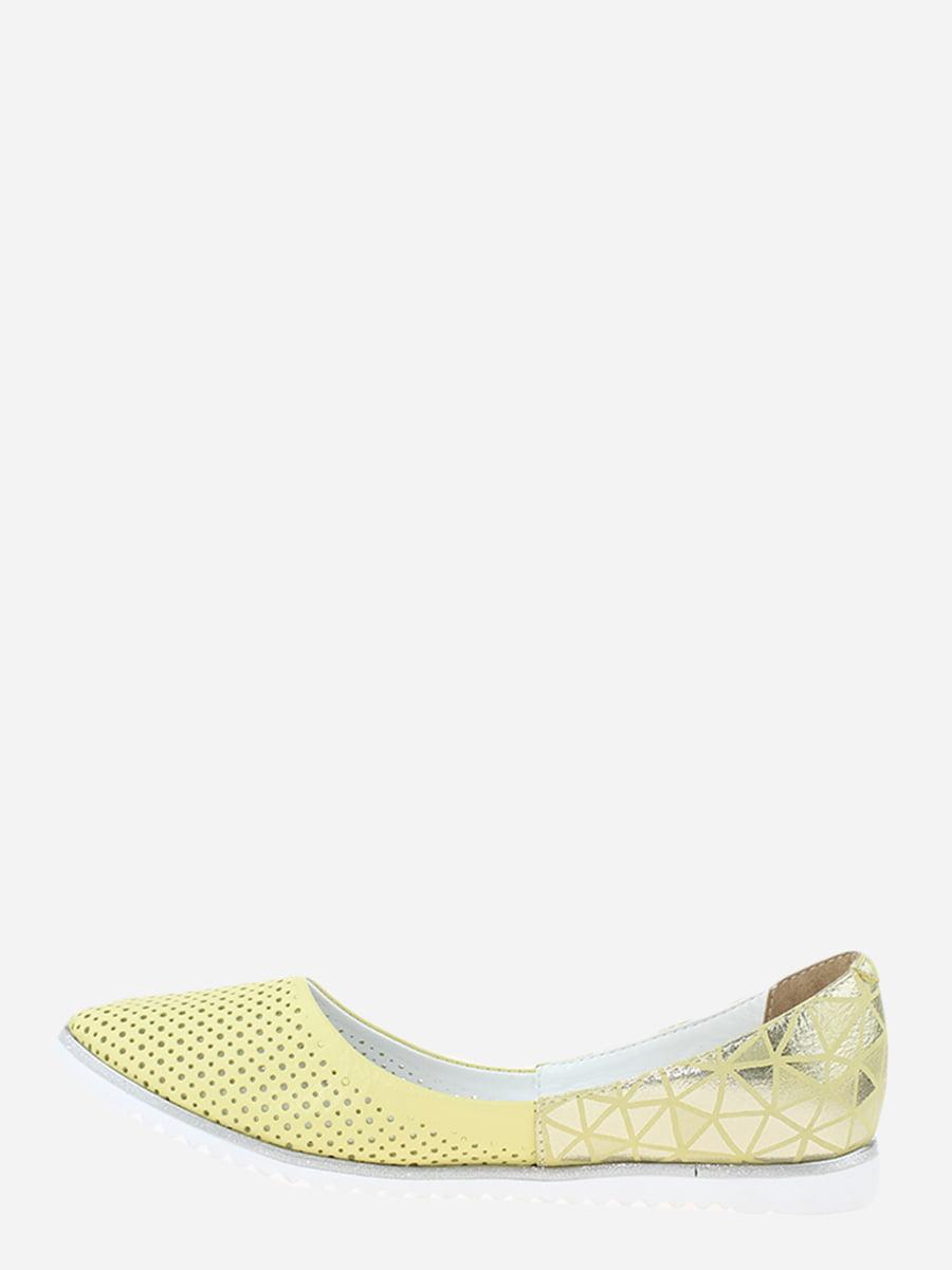 Балетки жовті | 5778653