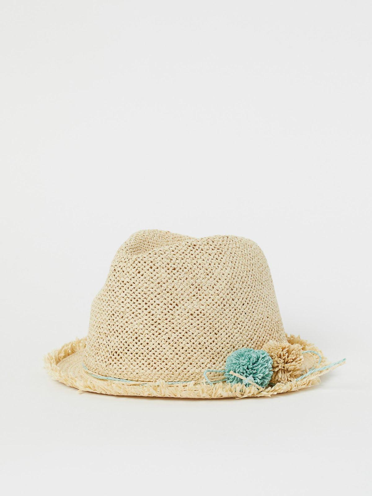 Шляпа бежевая   5823110