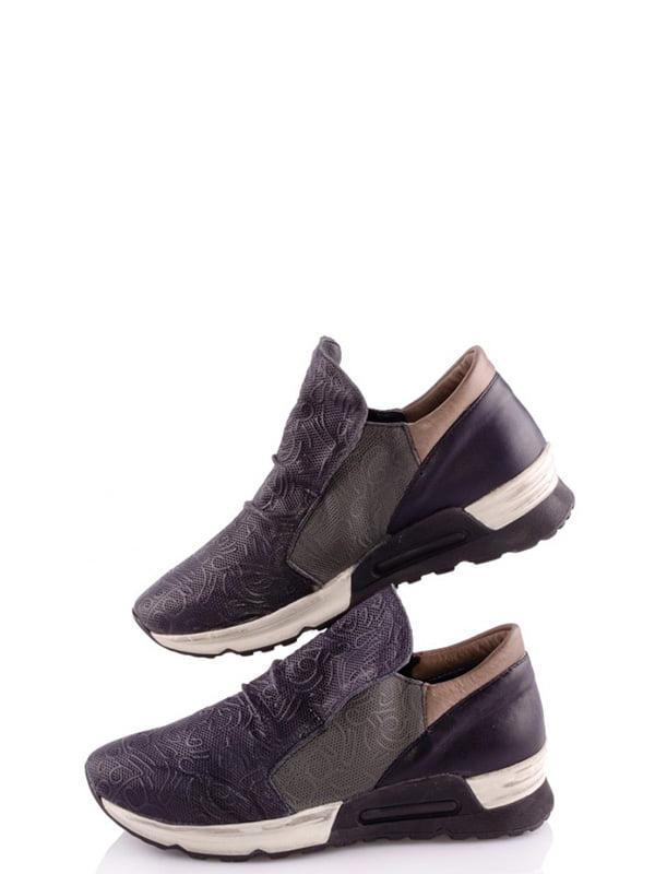 Кросівки комбінованого кольору з візерунком   4913516