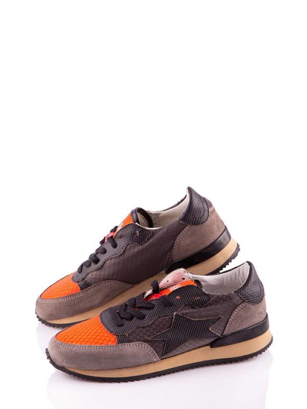 Кросівки комбінованого кольору з малюнком | 4913520