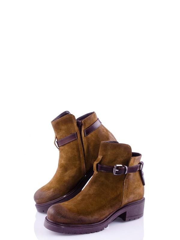 Черевики коричневі | 4978108