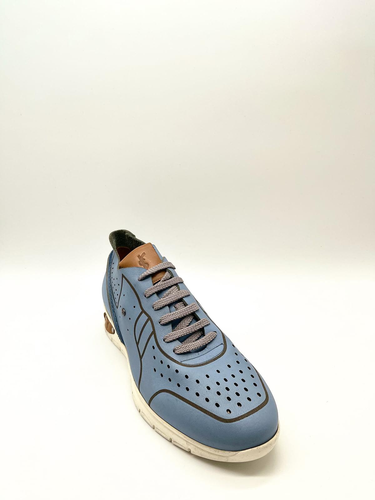 Кросівки блакитні | 5826804