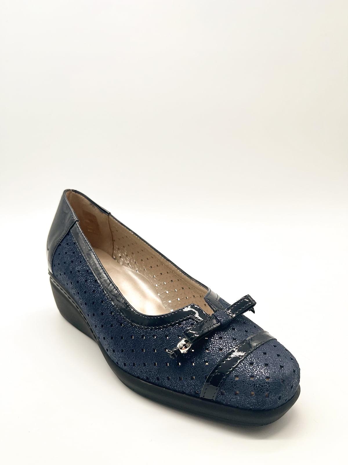 Туфлі темно-сині   5826810