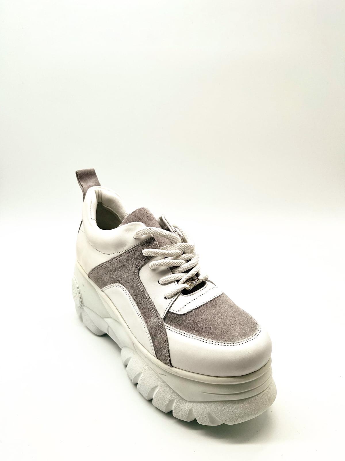 Кросівки біло-сірі   5826795