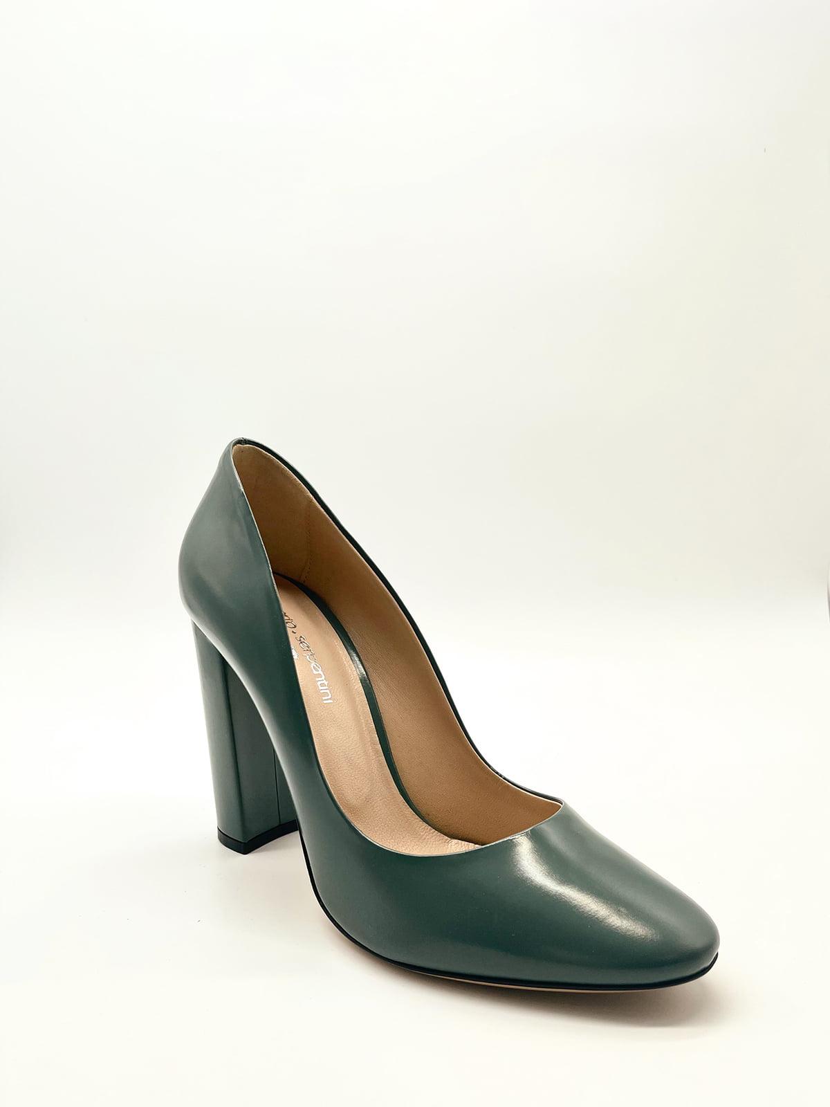 Туфлі темно-зелені   5826812
