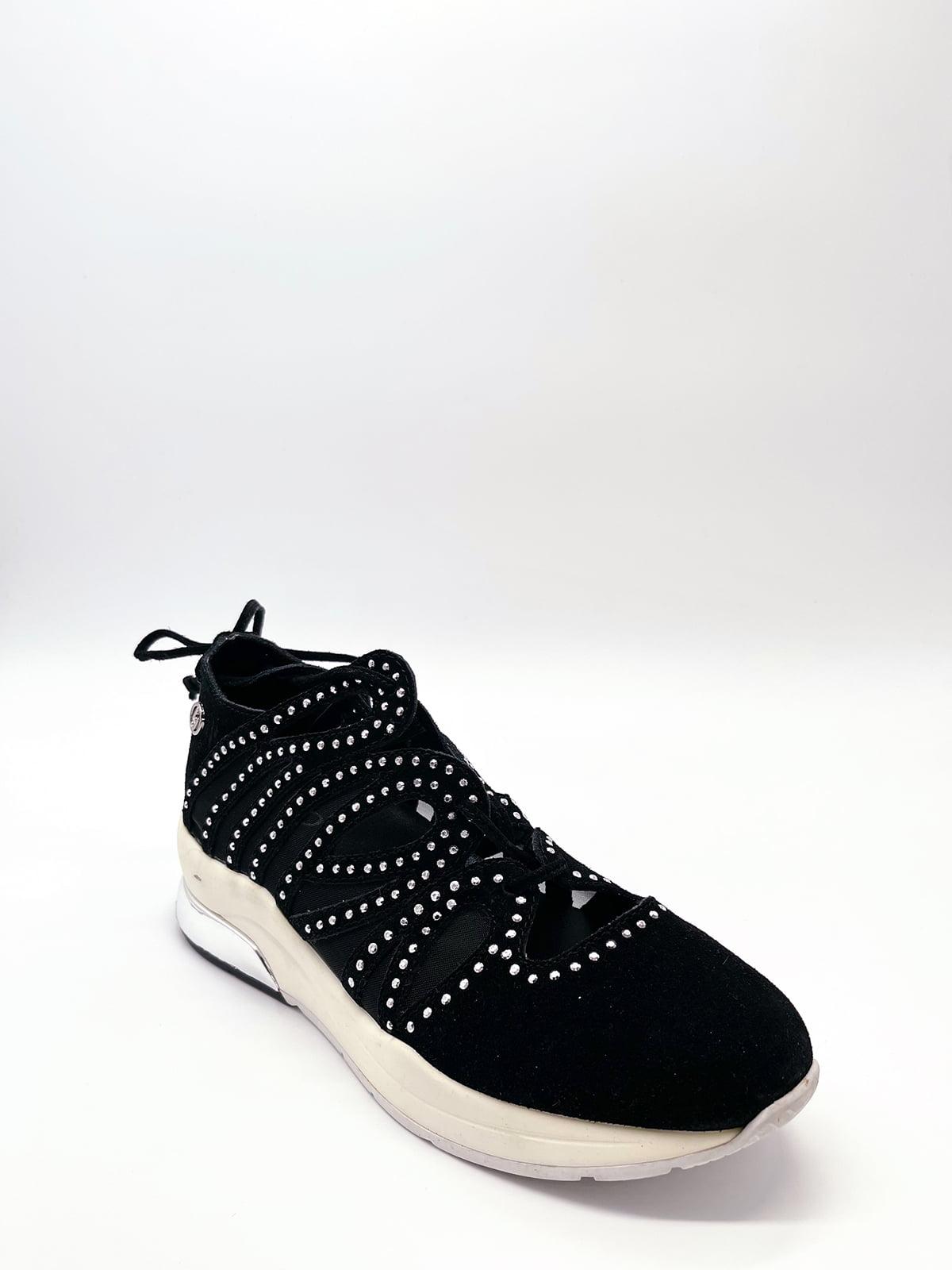 Кросівки чорні з декором   5828776