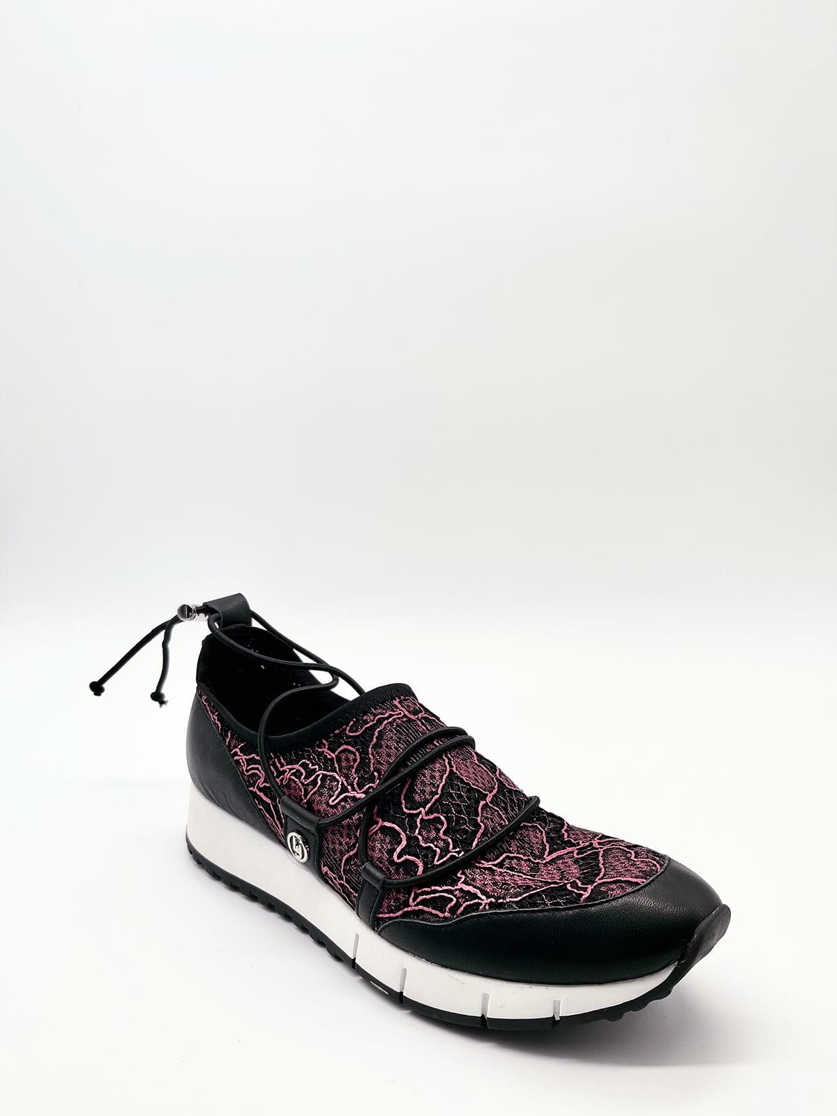 Кросівки чорні з візерунком   5828782