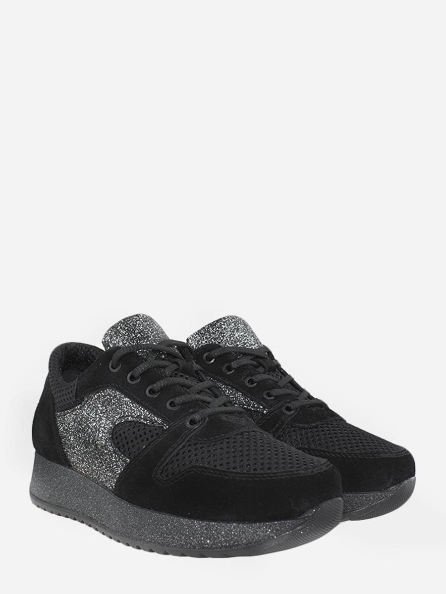 Кросівки чорні з декором | 5827721