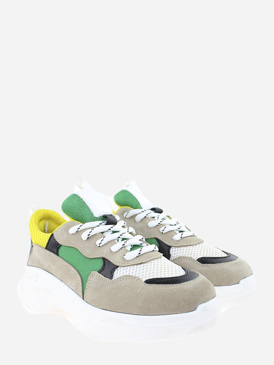 Кросівки комбінованого кольору   5802516
