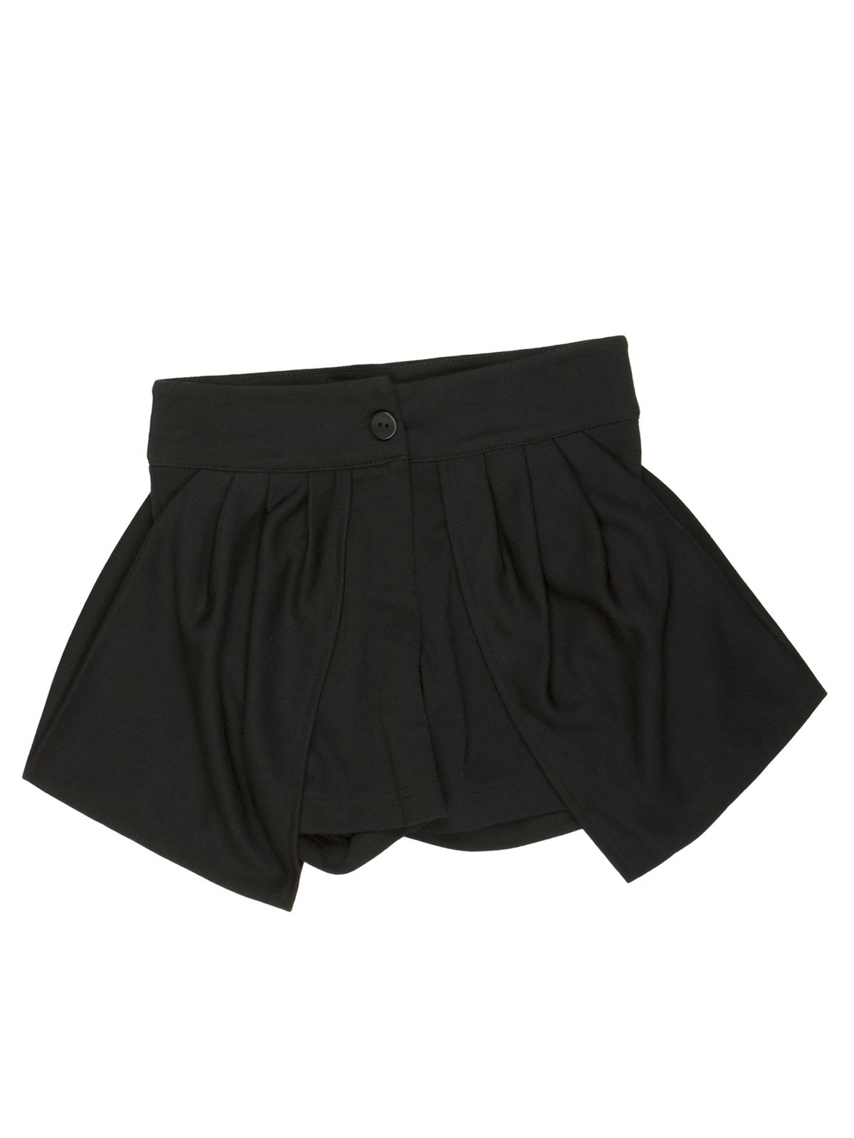 Юбка-шорты черная   449574